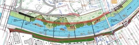 Nidda-Renaturierung Innenstadt Bad Vilbel